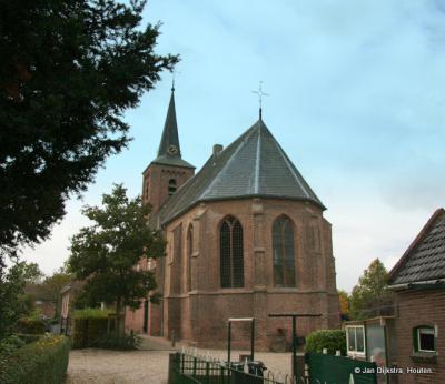Hervormde kerk Nieuwland.