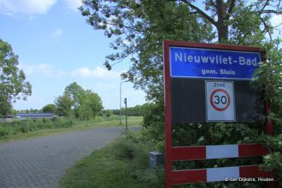Nieuwvliet-Bad in Zeeuws-Vlaanderen.
