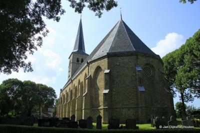 De robuuste kerk van Nijland