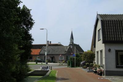 We houden het toch maar op een dorp, dus hier een dorpsgezicht van Noordse Dorp