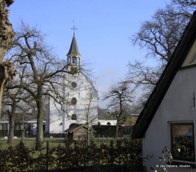 Het mooie Witte Kerkje in Odijk