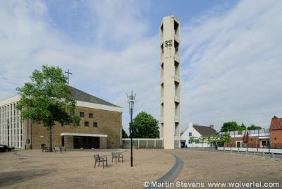 Offenbeek, de Fatimakerk uit 1964