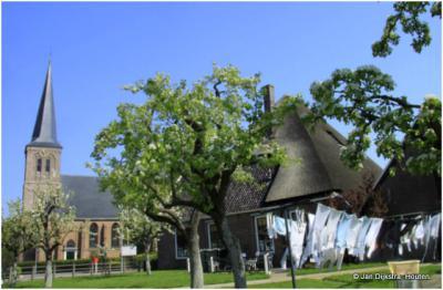 Wasdag in Oosterblokker, West Friesland.