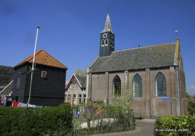 Dorpsgezicht Oost-Graftdijk, met o.a. de beeldbepalende en rijksmonumentale panden Hervormde kerk en hooihuis