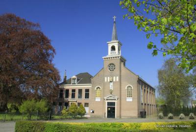 De R.K. kerk in Oosterblokker.