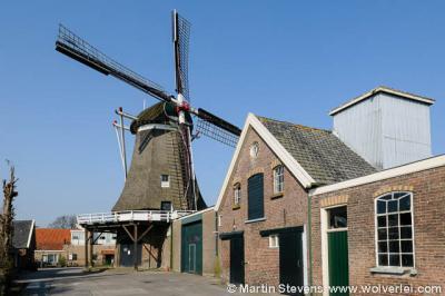 De grote trots en blikvanger van Oostendorp is korenmolen De Tijd uit 1854 (in 1984 gerestaureerd), die door vrijwillig molenaars nog altijd in bedrijf wordt gehouden.