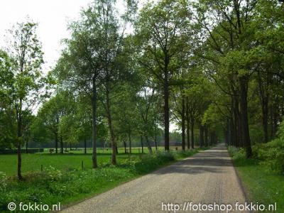 De oude weg Oostindie in de gelijknamige buurtschap