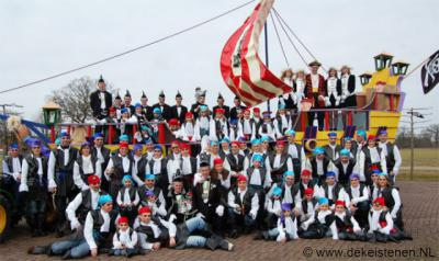 De buurtschap Agelo heeft een eigen carnavalsvereniging: CV De Keistenen