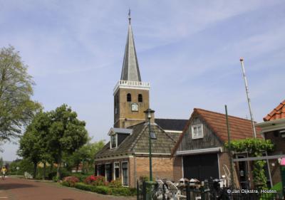 Dorpsgezicht Oppenhuizen, met kerk