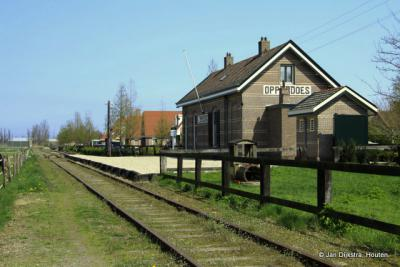 Ook Opperdoes heeft een station aan de Museumlijn