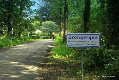 In de buurtschap Brongergea in Oranjewoud.