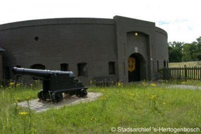 Fort Orthen moest de stad 's-Hertogenbosch vanuit het noorden beschermen tegen de vijand