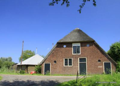 Boerderij Veldzicht in buurtschap Oud Aa