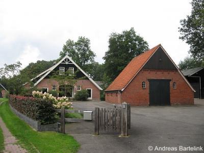 Oud Ootmarsum, boerderijen aan de Laagsestraat