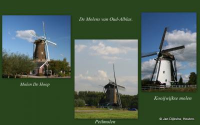 De drie molens van Oud-Alblas