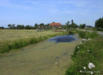 Oudeland, aan het water