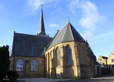 De Hervormde kerk in Ouderkerk aan den IJssel.