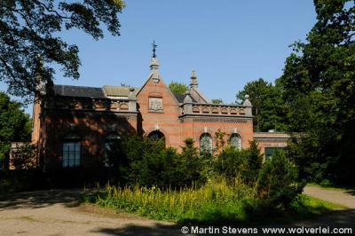 Overveen, voormalig pompgebouw van het waterleidingbedrijf, een van de vele rijksmonumenten in Overveen