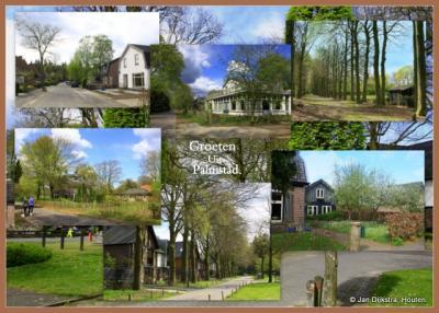 Palmstad, een buurtschap op de Utrechtse Heuvelrug tussen Doorn en Driebergen