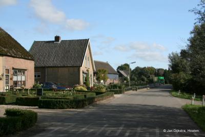 In Pinkeveer, een kleine buurtschap in de Alblasserwaard