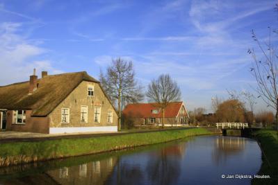 Een zeer oude boerderij in Polsbroek