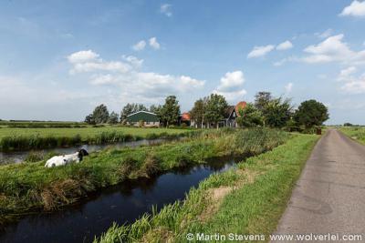 Poppendam of Poppendamme, buurtschap bij Zunderdorp, gemeente Amsterdam, Noord Holland