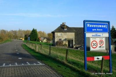In Ravenswaaij aan de Lekdijk aangekomen.