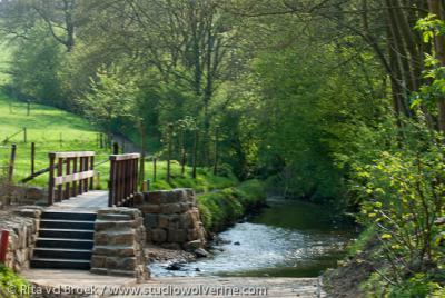Beutenaken, voetgangersbrug over de Gulp