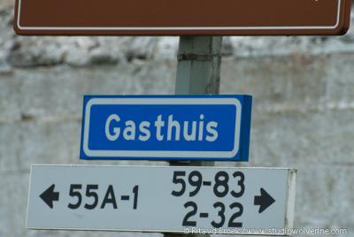 Gasthuis, buurtschap en enige straat van de buurtschap dragen dezelfde naam