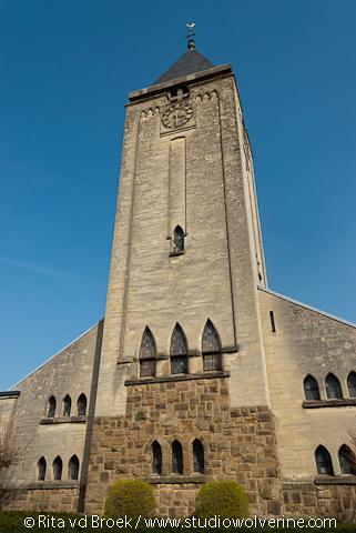 Nieuwstadt, kerktoren Sint Johannes de Doperkerk