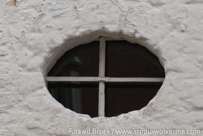 Rimburg, raam in hoeve