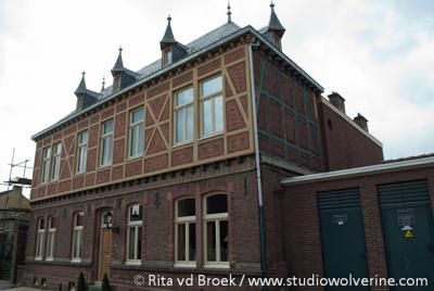 Rimburg, schoolgebouw met vakwerk