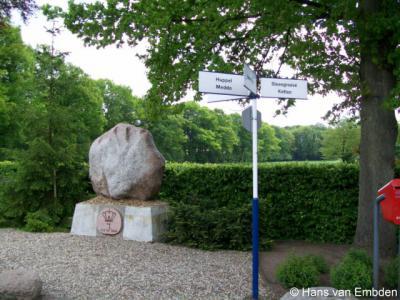 Buurtschap Ratum, hoek Ratumseweg/Veldboomweg