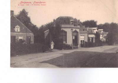 Rhienderen (hier nog gespeld als Reenderen), dorpsgezicht, 1910