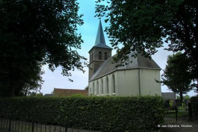 De 17e-eeuwse, rijksmonumentale Hervormde (PKN) kerk van Ried is sinds 1871 bepleisterd.