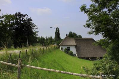 Buurtschap Rietveld heeft geen aaneengesloten bebouwing, maar hier en daar een boerderij