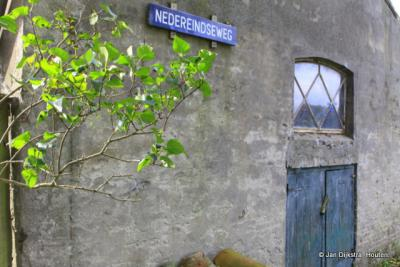 Buurtschap Rijnenburg aan de Nedereindseweg.