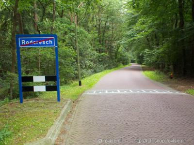 Roderesch ligt in een bosrijk gebied