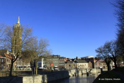 Stadsgezicht Roermond met de Sint Cristoffelkathedraal.