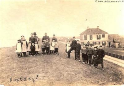 Roptazijl, buurtschapsgezicht, ca. 1900?