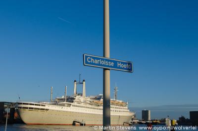 Rotterdam, voormalig cruiseschip De Rotterdam