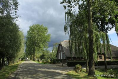 Erg landelijk is het in Reijerscop. Jammer dat het zo dicht bij de A12 is gelegen.