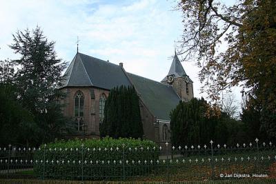 De Hervormde kerk van Rumpt.