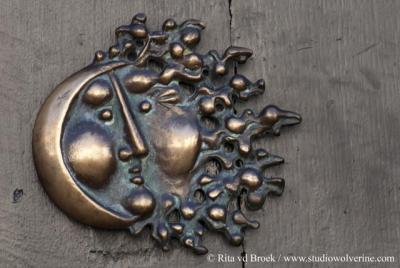 Eijsden, bronzen deurknop