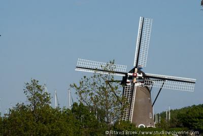 Brouwershaven, Molen De Haan