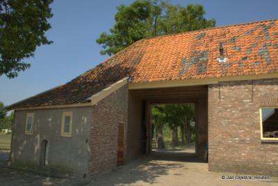 """Poortgebouw van Kasteel Rysenburgh, gezien vanaf de """"binnenplaats"""""""