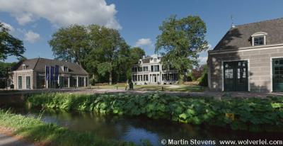 Wijdemeren, 's-Graveland. Schaep en Burgh is het hoofdkantoor van Natuurmonumenten.