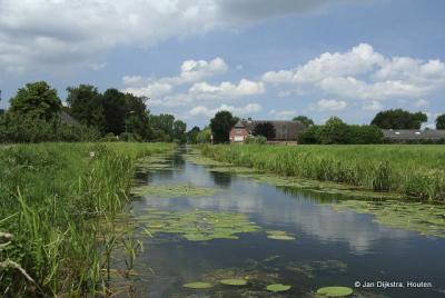 De Schalkwijksewetering in Schalkwijk