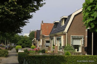 De kom van het dorp Scharsterbrug