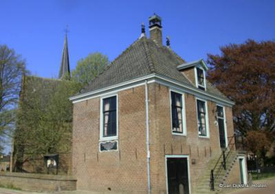 Het voormalige raadhuis in Schellinkhout